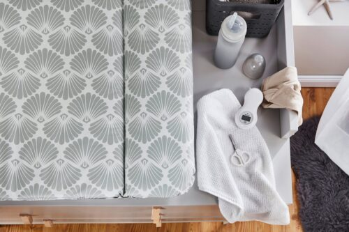 Rotho Babydesign Wickelauflage Seashell Shape Made in Europe B70166914 UVP 30,85€ | 70166914 2