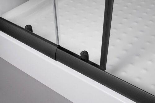 WELLTIME Eckdusche Trento Black verstellbar 80-90cm Duschkabine BxT:90x90cm B71086849 ehemalige UVP 219,99€ | 71086849 4