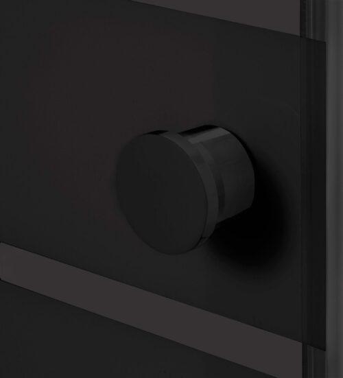 WELLTIME Eckdusche Trento Black verstellbar 80-90cm Duschkabine BxT:90x90cm B71086849 ehemalige UVP 219,99€ | 71086849 5