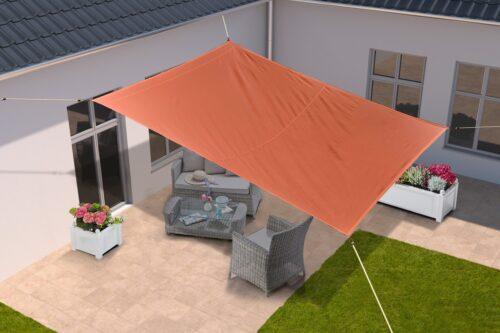 KONIFERA Sonnensegel 300x250cm orange B71581315 UVP 39,99€ | 71581315 1