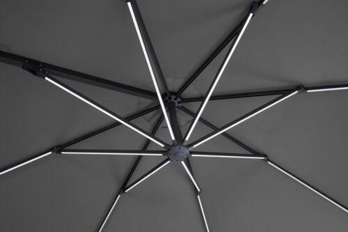 garten gut Ampelschirm Paris LxB:270x270cm Solarbetriebener LED Beleuchtung B72877260 UVP 299,99€ | 72877260 6