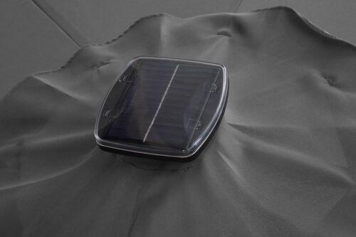garten gut Ampelschirm Paris LxB:270x270cm Solarbetriebener LED Beleuchtung B72877260 UVP 299,99€ | 72877260 8