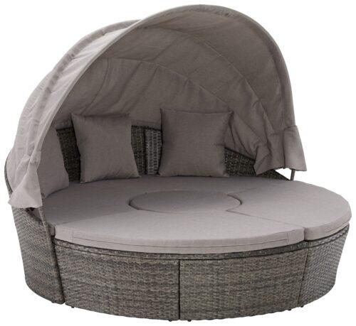 KONIFERA Loungebett Tahiti NEW Polyrattan inkl. Auflagen B73054953 UVP 549,99€ | 730 1