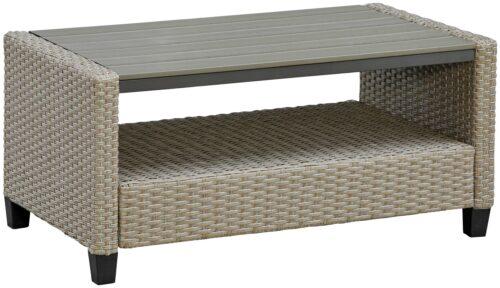 KONIFERA Loungeset Lorca 2er Sofa 2 Sessel Tisch 90x55cm 2 Hocker inkl. Auflagen B73765359 ehemalige UVP 499,99€ | 73765359 10
