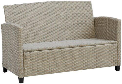 KONIFERA Loungeset Lorca 2er Sofa 2 Sessel Tisch 90x55cm 2 Hocker inkl. Auflagen B73765359 ehemalige UVP 499,99€ | 73765359 5