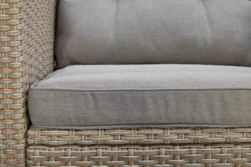 KONIFERA Loungeset Lorca 2er Sofa 2 Sessel Tisch 90x55cm 2 Hocker inkl. Auflagen B73765359 ehemalige UVP 499,99€ | 73765359 8
