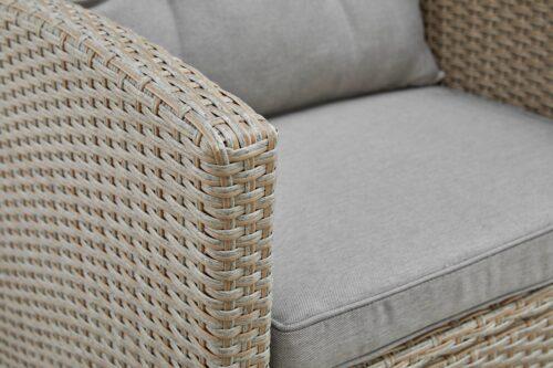 KONIFERA Loungeset Lorca 2er Sofa 2 Sessel Tisch 90x55cm 2 Hocker inkl. Auflagen B73765359 ehemalige UVP 499,99€ | 73765359 9