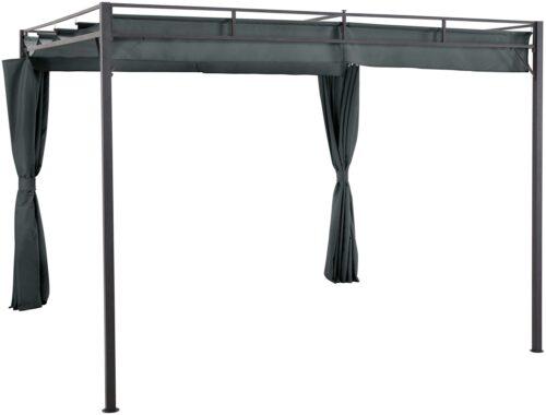 KONIFERA Pavillon Milos mit 2 Seitenteilen (Set) BxT:300x300cm B74099822 UVP 299,99€ | 74099822 1