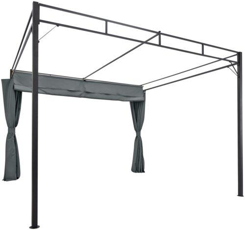 KONIFERA Pavillon Milos mit 2 Seitenteilen (Set) BxT:300x300cm B74099822 UVP 299,99€ | 74099822 3