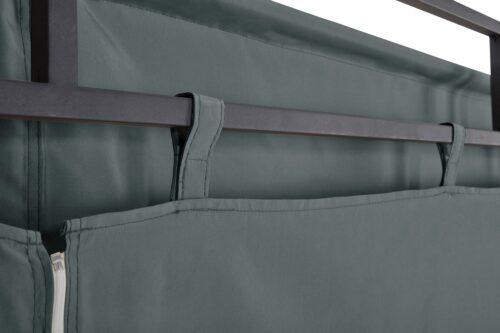 KONIFERA Pavillon Milos mit 2 Seitenteilen (Set) BxT:300x300cm B74099822 UVP 299,99€ | 74099822 7