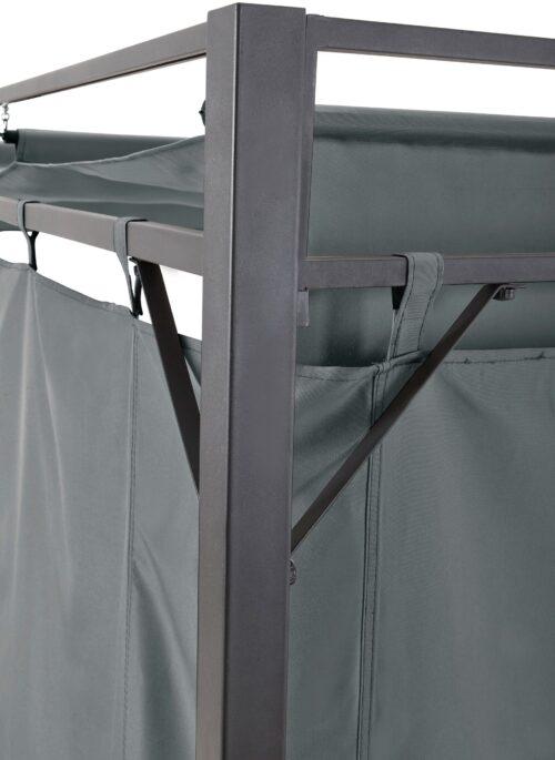 KONIFERA Pavillon Milos mit 2 Seitenteilen (Set) BxT:300x300cm B74099822 UVP 299,99€ | 74099822 8