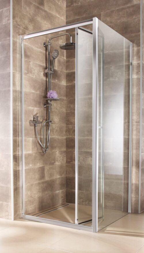 welltime Eckdusche Vigo BxT:90x90cm Einscheibensicherheitsglas hochwertige massive Duschwand B74110924 UVP 239,99€ | 74110924 1