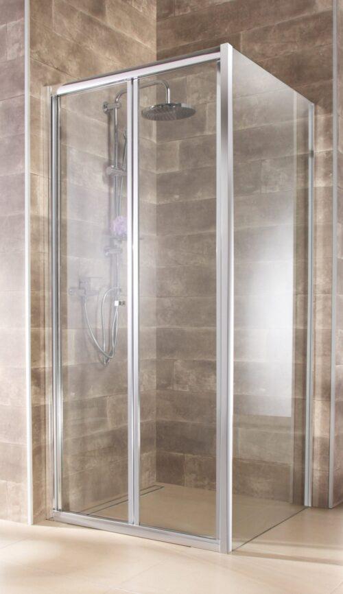 welltime Eckdusche Vigo BxT:90x90cm Einscheibensicherheitsglas hochwertige massive Duschwand B74110924 UVP 239,99€ | 74110924 2