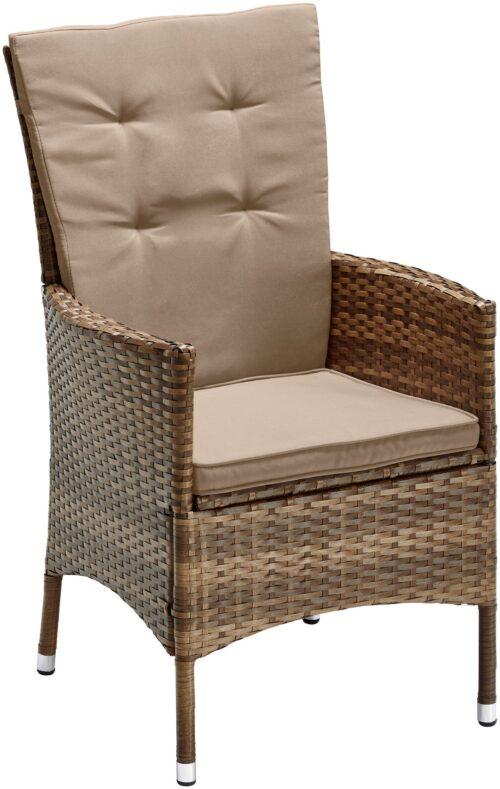 KONIFERA Stuhlset Santiago Deluxe 6 Sessel Polyrattan B74702315OT | 74702315 1
