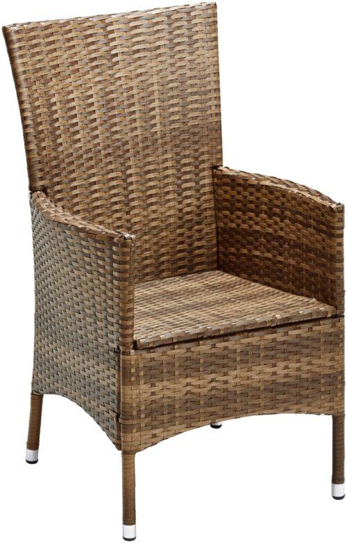 KONIFERA Stuhlset Santiago Deluxe 6 Sessel Polyrattan B74702315OT | 74702315 3