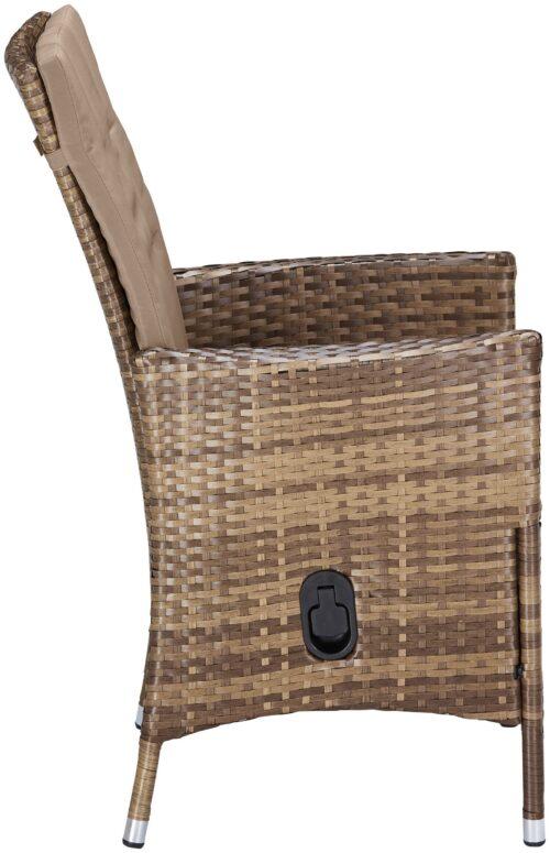 KONIFERA Stuhlset Santiago Deluxe 6 Sessel Polyrattan B74702315OT | 74702315 4