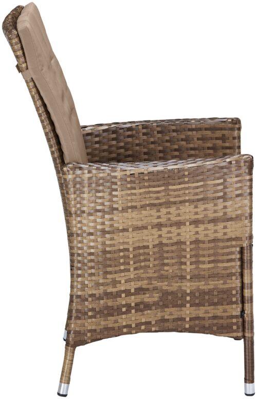 KONIFERA Stuhlset Santiago Deluxe 6 Sessel Polyrattan B74702315OT | 74702315 5
