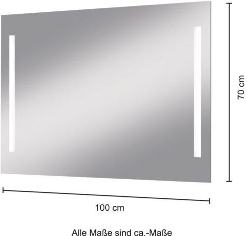 welltime Badspiegel Miami LED-Spiegel 100x70cm B76823716 ehemalige UVP 199,99€ | 76823716 6