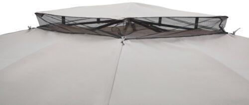 KONIFERA Pavillon Falkenstein mit 4 Seitenteilen BxT:345x345cm B77875356 ehemalige UVP 299,99€   77875356 9