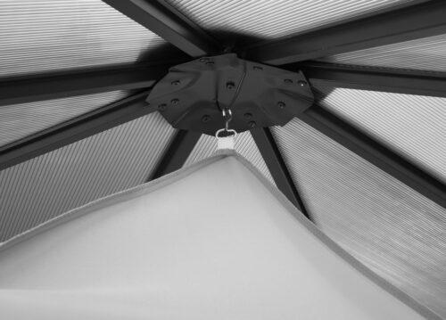 KONIFERA Sonnensegel BxL:300x300cm Pavillon Barbados B78675127 UVP 39,99€   78675127 2