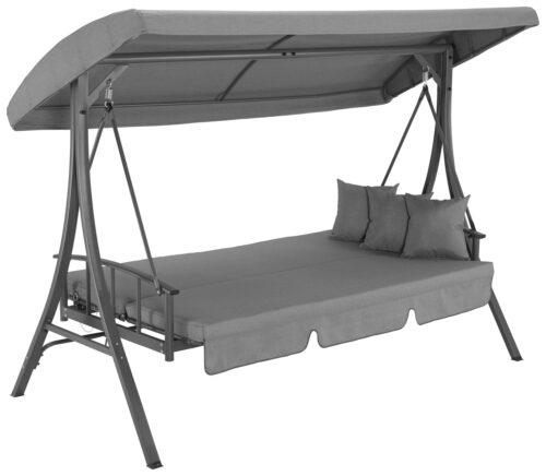 KONIFERA Hollywoodschaukel Californien 3-Sitzer Bettfunktion inkl. Auflagen B81365166 UVP 449,99€   81365166 2