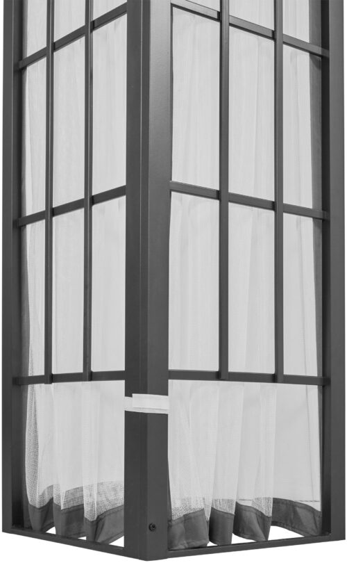 Konifera Moskitonetz-Seitenteile für Pavillon Alu hellgrau B82025243 UVP 49,99€ | 82025243 3