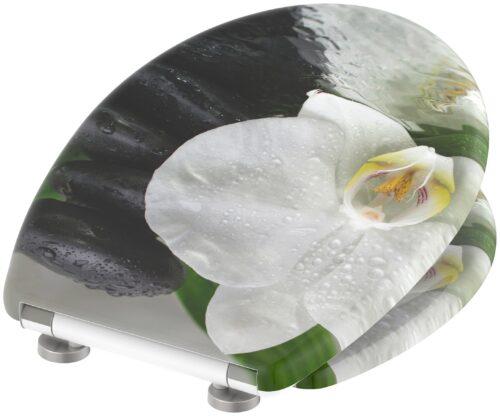 welltime WC-Sitz White Flower mit Absenkautomatik abnehmbar B84340569 ehemalige UVP 49,99€   84340569 3