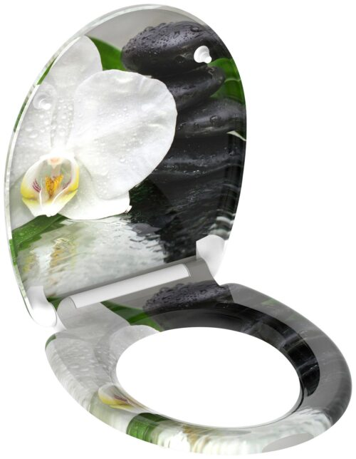 welltime WC-Sitz White Flower mit Absenkautomatik abnehmbar B84340569 ehemalige UVP 49,99€   84340569 4