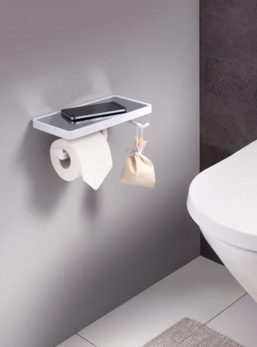 welltime Toilettenpapierhalter Rügen mit Smartphoneablage & Handtuchhaken B84629154 ehemalige UVP 39,99€ | 84629154 4
