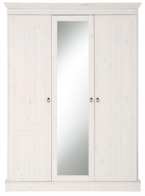 Home affaire Drehtürenschrank Indra 141cmx190cmx53cm dekorativen Fräsungen B846949 UVP 549,99€ | 846949 2