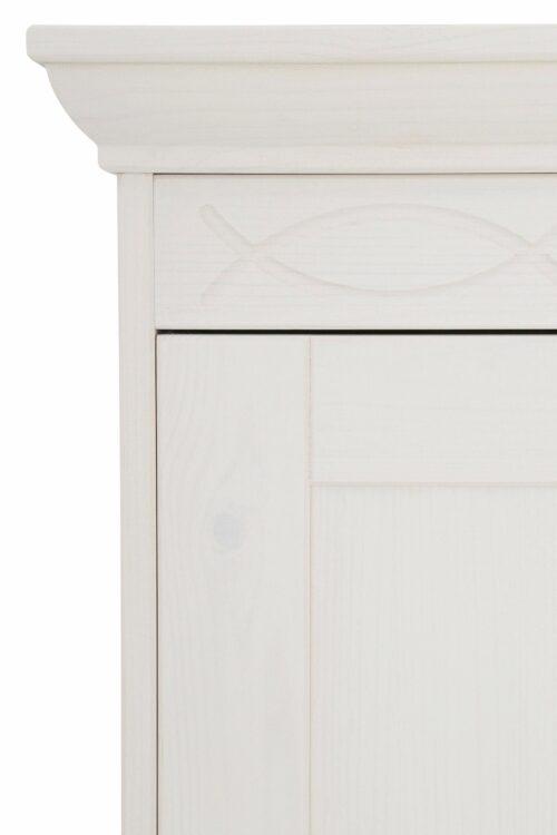 Home affaire Drehtürenschrank Indra 141cmx190cmx53cm dekorativen Fräsungen B846949 UVP 549,99€ | 846949 5