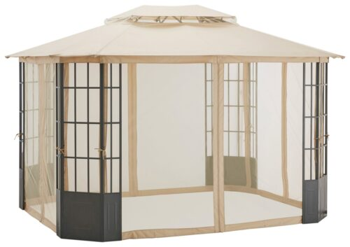 KONIFERA Pavillon Borkum mit 4 Seitenteilen BxT:300x360cm B84745664 UVP 272,93€ | 84745664 3