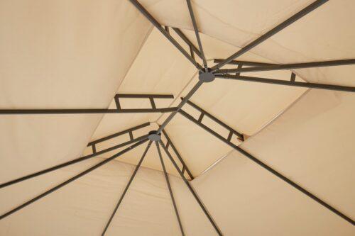 KONIFERA Pavillon Borkum mit 4 Seitenteilen BxT:300x360cm B84745664 UVP 272,93€ | 84745664 6