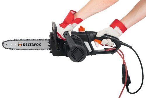 DELTAFOX Elektro-Kettensäge DG-ECS 1830 35 cm Schwertlänge B84993147 UVP 69,99€   84993147 5
