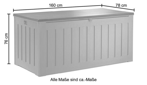 garten gut Kissenbox 830 Liter B WARE!! B85777540 UVP 229,99€   85777540 9