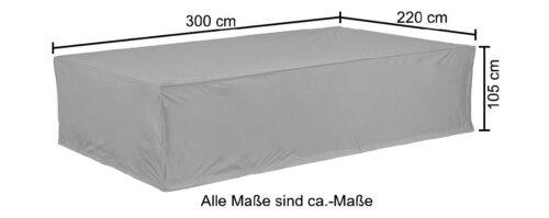 KONIFERA Gartenmöbel-Schutzhülle (1-St) LxBxH:300x220x105cm B86922821 UVP 79,99€ | 86922821 6