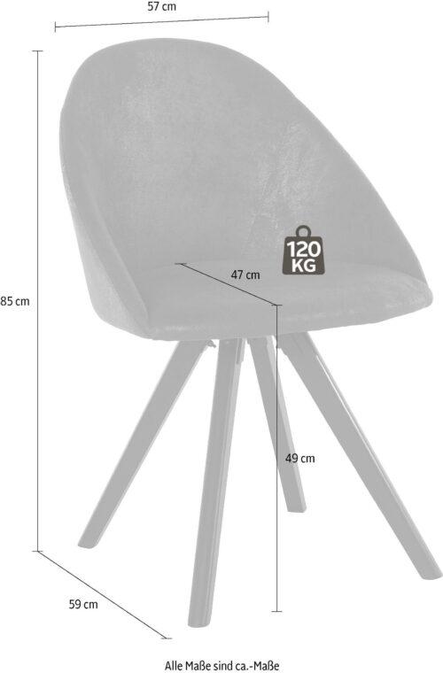 Home affaire Stuhl LOTOS (Set 2 Stück) B87021269 UVP 299,99€ | 87021269 3
