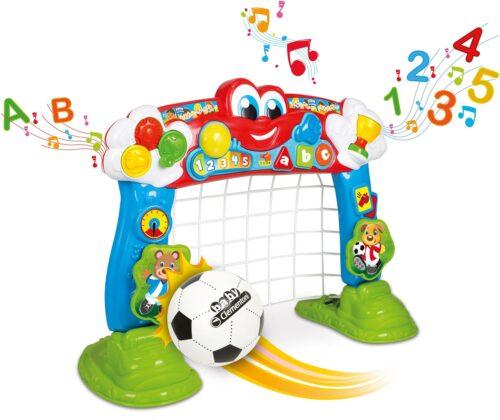 Clementoni® Lernspielzeug Clementoni Baby Interaktives Fußballtor mit Ball und Lernfunktion B871899 UVP 49,99€ | 871899 1