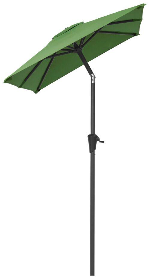 garten gut Sonnenschirm LxB: 120x190cm abknickbar ohne Schirmständer B87230316 UVP 49,99€ | 87230316 2