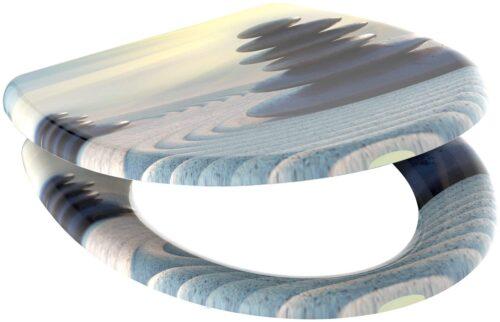 welltime WC-Sitz Zen Stones mit Absenkautomatik abnehmbar B88099755 ehemalige UVP 49,99€ | 88099755 1