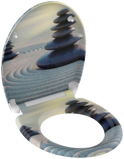 welltime WC-Sitz Zen Stones mit Absenkautomatik abnehmbar B88099755 ehemalige UVP 49,99€ | 88099755 4