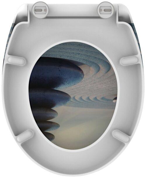 welltime WC-Sitz Zen Stones mit Absenkautomatik abnehmbar B88099755 ehemalige UVP 49,99€ | 88099755 5