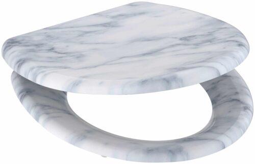 welltime WC-Sitz Marble mit Absenkautomatik abnehmbar B90041751 ehemalige UVP 49,99€ | 90041751 1