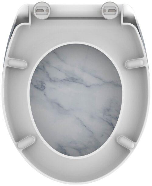 welltime WC-Sitz Marble mit Absenkautomatik abnehmbar B90041751 ehemalige UVP 49,99€ | 90041751 5