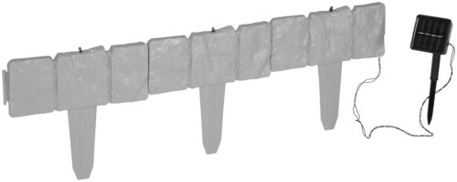 Rasenkante LED-Stone LxH:25x22,5cm mit fester LED Lichterkette B90348642 UVP 16,99€ | 90348642 1