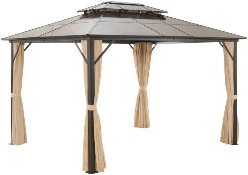 KONIFERA Pavillonseitenteile Alicante mit 4 Seitenteilen für 300x365cm B91981734 UVP 79,99€ | 91981734 2