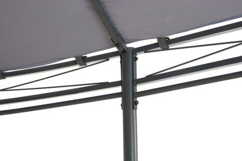 KONIFERA Pavillon Oval mit 8 Seitenteilen (Set) BxT:350x500cm B93603352 UVP 259,99€ | 93603352 5
