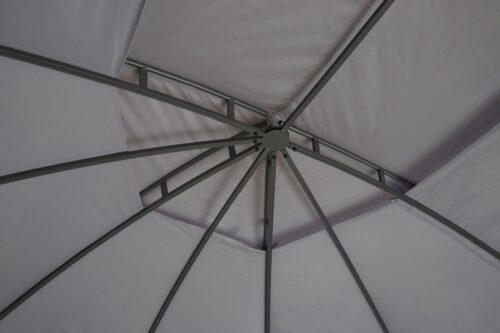 KONIFERA Pavillon Oval mit 8 Seitenteilen (Set) BxT:350x500cm B93603352 UVP 259,99€ | 93603352 6