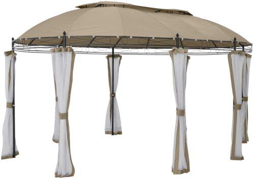 KONIFERA Pavillonseitenteile Oval mit 8 Seitenteilen Moskitonetz B93899324 UVP 79,99€ | 93899324 2