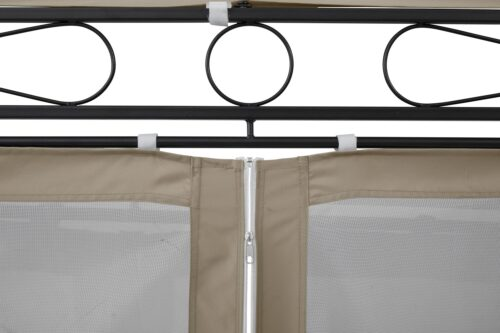 KONIFERA Pavillonseitenteile Oval mit 8 Seitenteilen Moskitonetz B93899324 UVP 79,99€ | 93899324 5